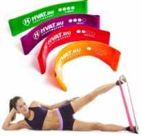 Упражнения с лентой эластичной для похудения
