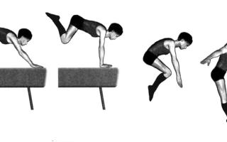 Характеристика и классификация прыжков в гимнастике