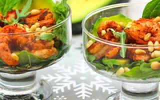 Какой салат можно приготовить с авокадо рецепты