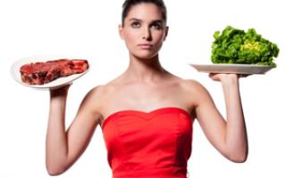 Диета овощи и мясо 2 недели