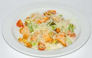 Не калорийные салаты рецепты