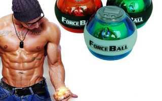 Кистевой гироскопический тренажер powerball