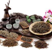 Китайский чай для похудения фото