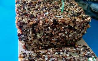 Хлеб без муки и дрожжей рецепт