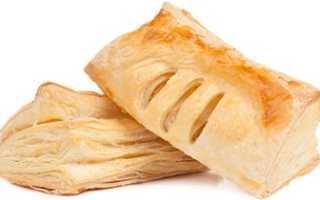 Калорийно ли слоеное тесто