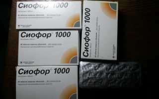 Таблетки сиофор отзывы