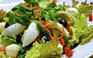 Малокалорийные салаты рецепты с фото простые