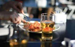 Самый низкокалорийный алкогольный напиток таблица