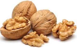 Грецкий орех содержание витаминов