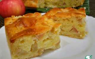Пирог с корицей на кефире рецепт