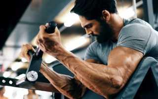 Упражнения для мышц бицепса для мужчин
