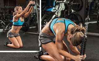 Пресс за 30 дней для мужчин упражнения