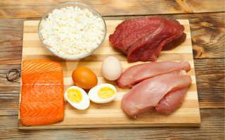 Продукты содержащие большое количество белка для похудения