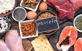 Продукты обогащенные белком