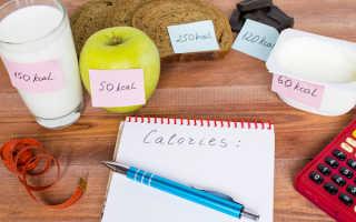 Расчет калорийности рациона формула