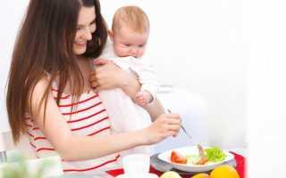 Диета мамы при диатезе у грудничка