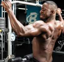 Как накачать мышцы спины на тренажере