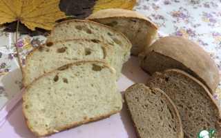 Бездрожжевой хлеб в домашних условиях рецепт