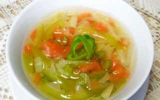 Сельдереевый суп калорийность