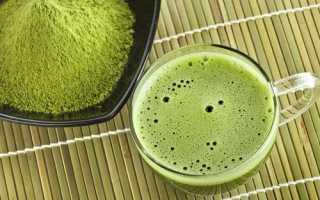 Матча японский чай