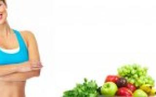Низкокалорийное меню для похудения на месяц