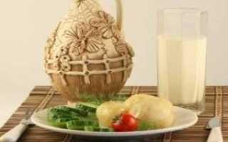 Диета на кефире и картошке