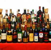 Низкокалорийный алкоголь таблица