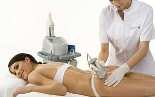 Дренажный массаж для похудения