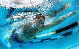Расход калорий при плавании в бассейне