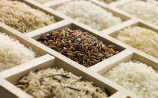 Рисовая диета для суставов