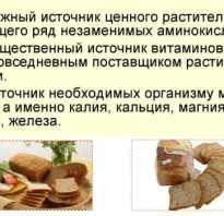 Какой хлеб низкокалорийный