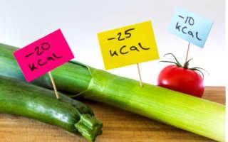 Низкокалорийные рецепты с указанием калорийности