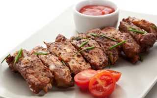 Свиные ребра калорийность
