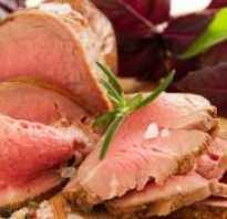 Витамины в вареном мясе