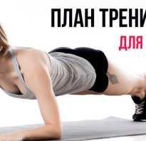 Комплекс упражнений для домашних тренировок для женщин