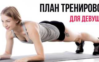 Физические упражнения дома для девушек