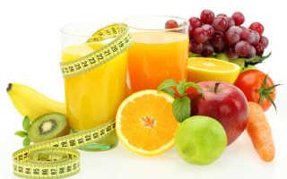 Свежевыжатые соки рецепты для похудения
