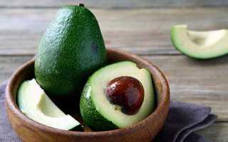 Смузи с авокадо и бананом рецепт
