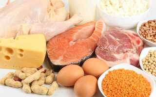 Список продуктов с содержанием белков