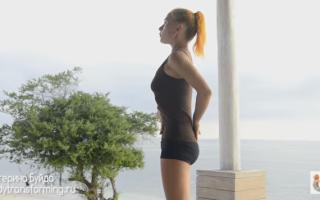 Гимнастика для шпагата видео