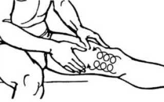 Массаж для внутренней стороны бедра для похудения