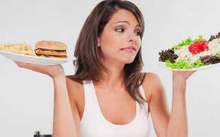 Рацион на 1700 калорий в день
