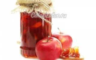 Яблочное повидло калорийность
