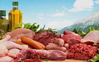 Самое диетическое мясо таблица