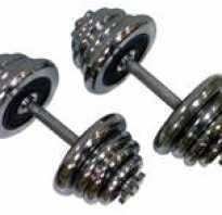 Правильные упражнения с гантелями