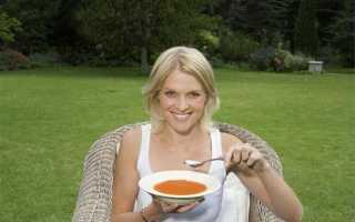 Самый низкокалорийный суп для похудения
