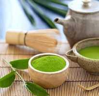 Матча чай польза и вред