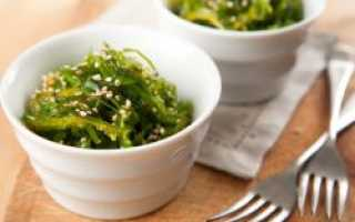Морская капуста салат витаминный калорийность