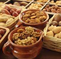 Таблица пользы орехов