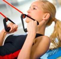 Упражнения с тренажером эспандером